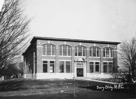 The Dairy Science Building, undated