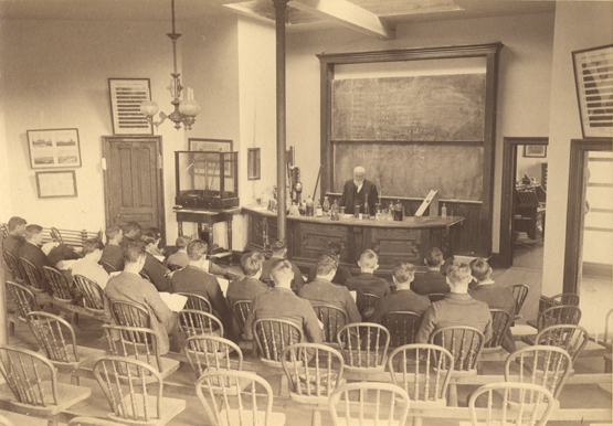 Professor Kedzie lectures on gasoline, 1892