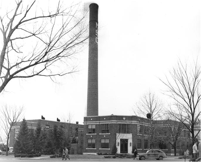 MSC Smoke Stack, 1946
