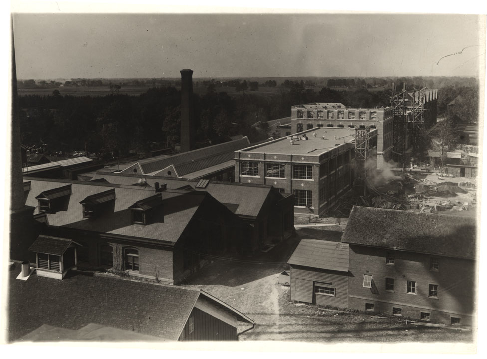 (G)Construction of Olds Hall, circa 1917