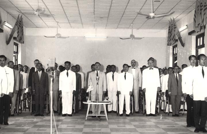 Vietnam Bureau of Investigation officers' graduation, 1959