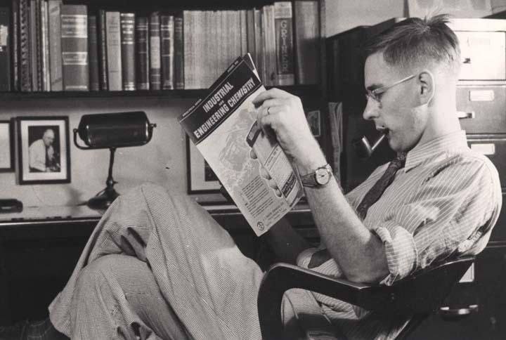 Ralph Turner reading