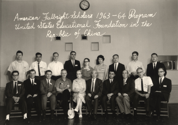 American Fulbright Scholars, 1963