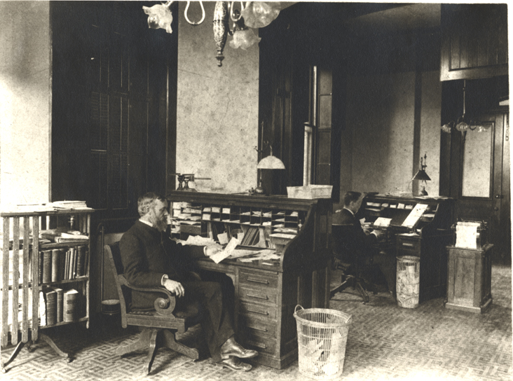 Faculty office, date unknown