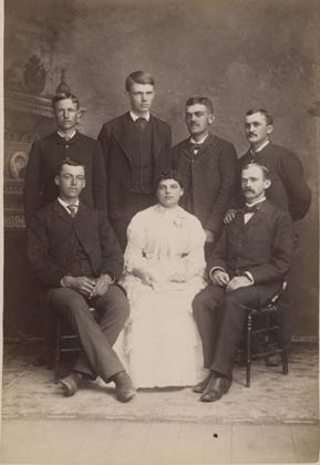 Junior class officers, 1885