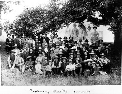 Class of 1890, 1887