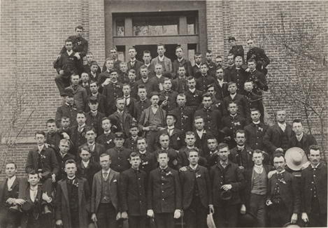Class of 1892, taken 1888