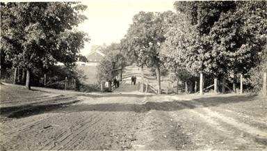 Farm lane bridge, date unknown