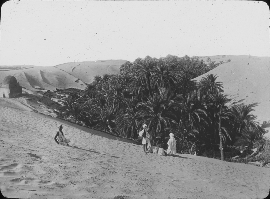 Possible Algerian valley oasis, undated