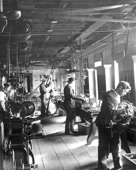College of Engineering Shop, date unknown