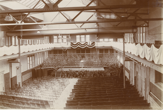 Auditorium in Agriculture Hall, date unknown