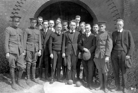 Horticulture students, 1918