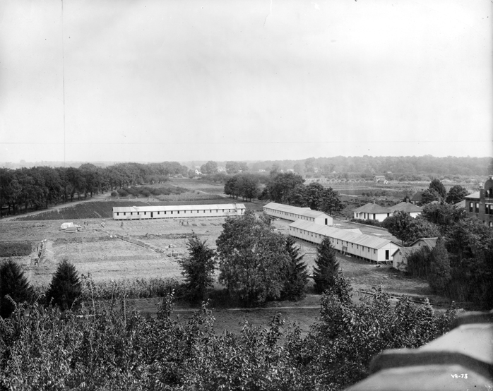 M.A.C. Barracks during World War I, 1910s