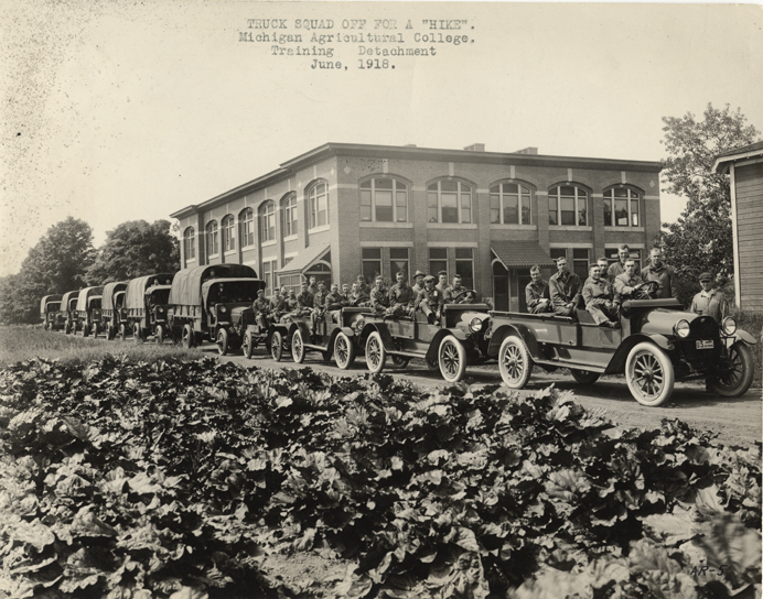 The Squad Truck, 1918