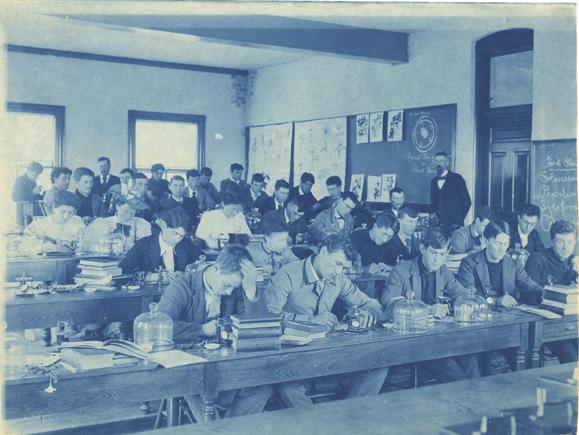 Botany Class, ca. 1900