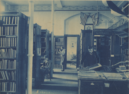 Experiment Station Library, date unknown