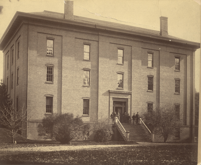 College Hall, 1892