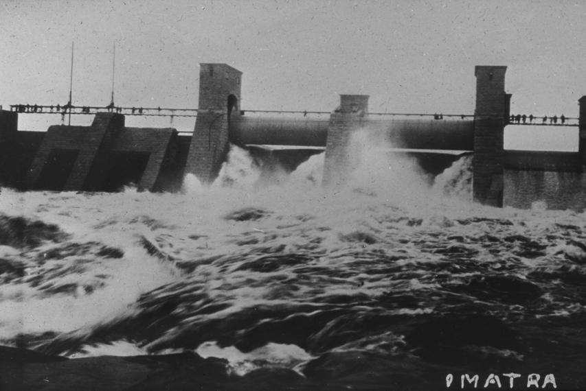 Dam in Imatra, Finland, undated