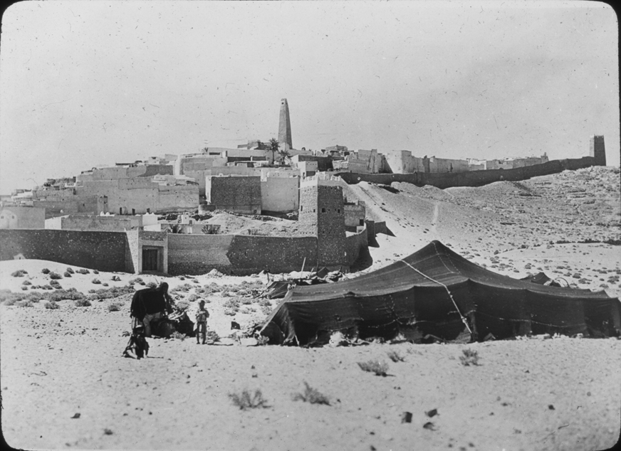 Walled city in Algeria, undated