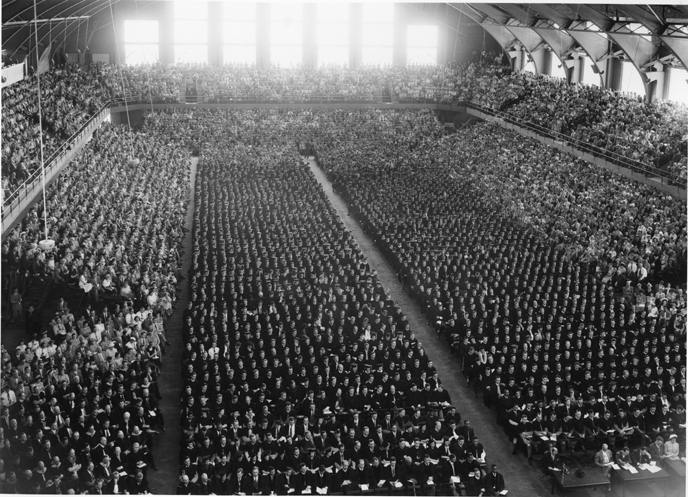 Graduating class, 1942