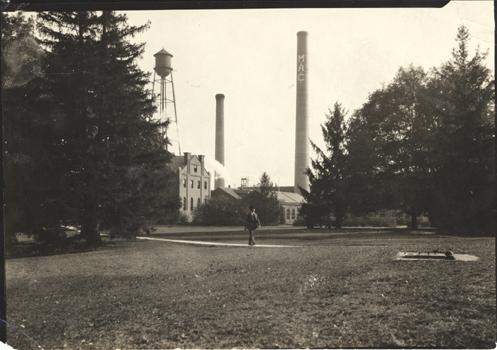 M.A.C. power building, ca. 1920