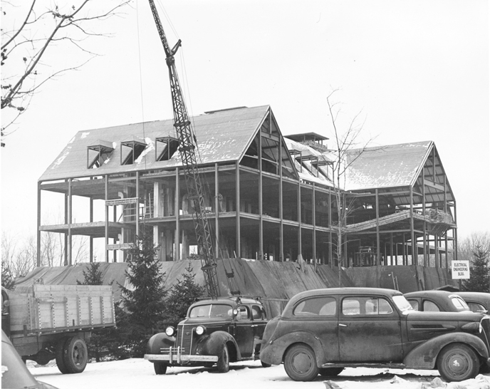 Electrical Engineering Building construction, 1948