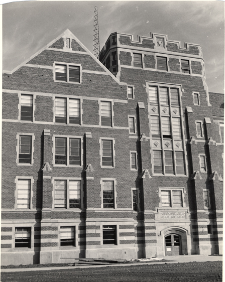 Front of the Electrical Engineering Building, 1949