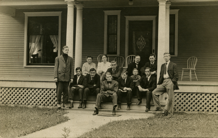 A group of sub-faculty members, date unknown