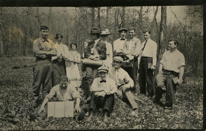 Forestry students, 1914