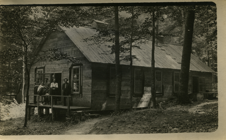 Forestry camp dining hall, 1914