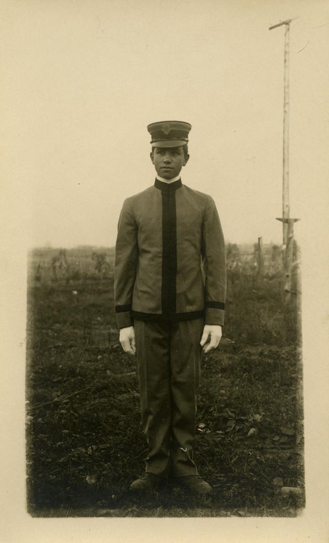 A cadet, ca. 1910-1920
