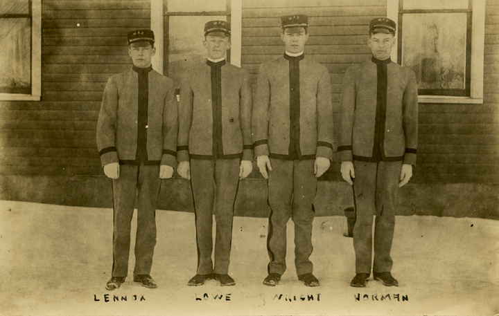 Four Cadets, 1910