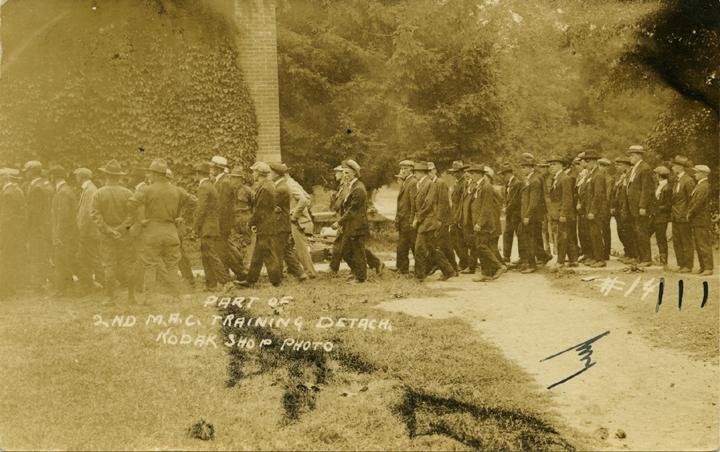 M.A.C. Training Detach, ca. 1910