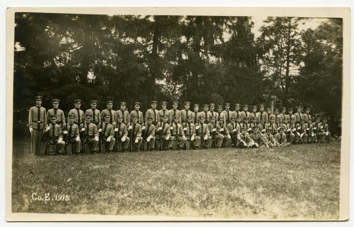 Cadet Corps B, 1915