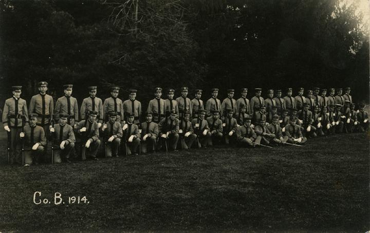 Cadet Corps B, 1914