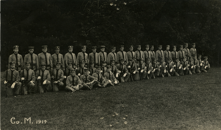 Cadet Corps M, 1914