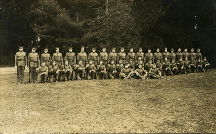 Cadet Corps I, 1915