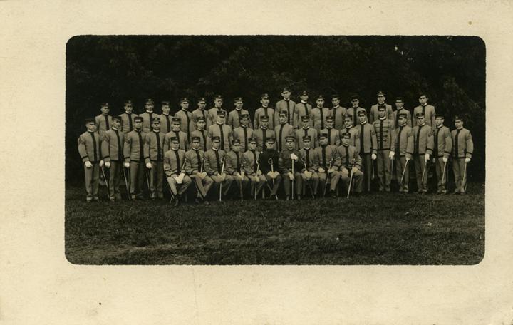 Cadet Officers, ca. 1910