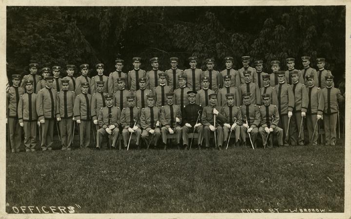 Cadet Officers, 1914
