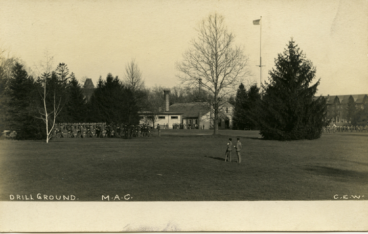 Drill grounds, ca. 1910