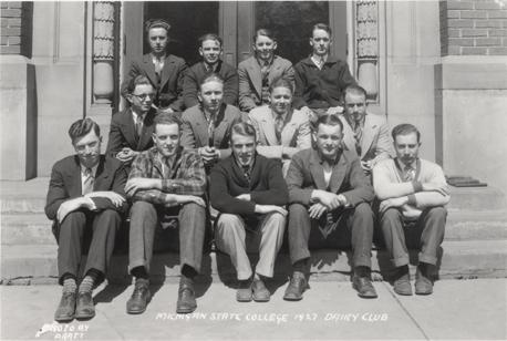 Members of the Dairy Club, 1927