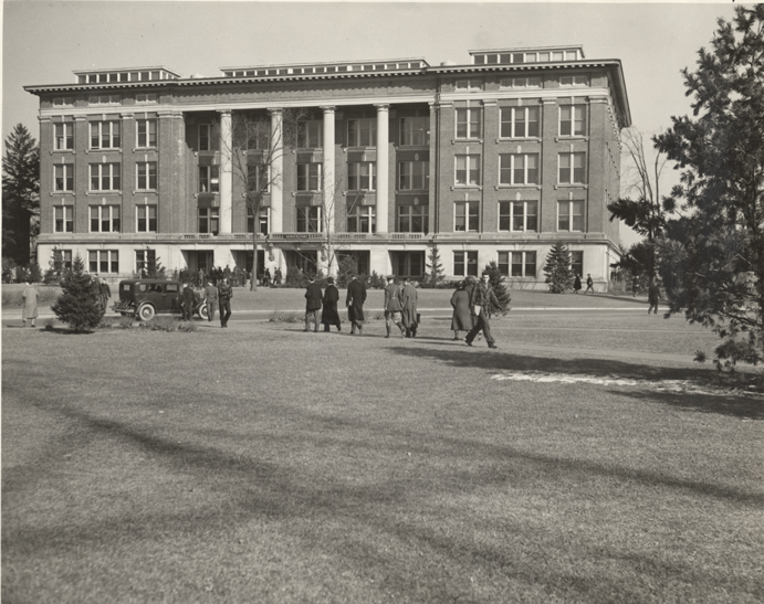 Agriculture Hall, date unknown