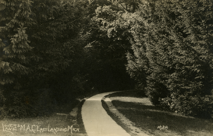 Lovers Lane, date unknown