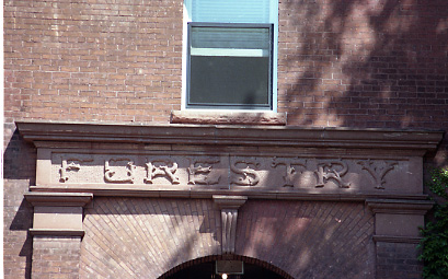 Front Sign of the Forestry Building, undated
