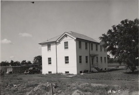 A view of the Rodent Laboratory, date unknown