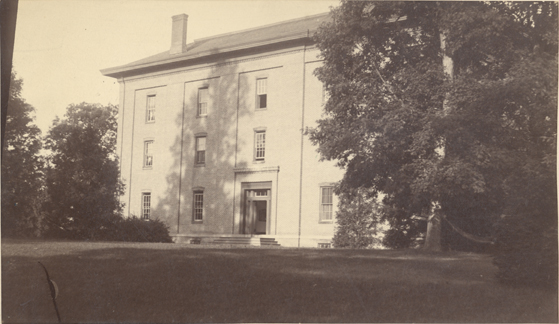 College Hall, date unknown