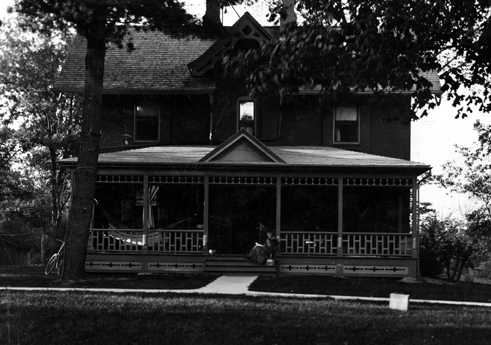 The home of Ella Kedzie, 1896 ca.
