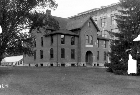 A view of Cook Hall, date unknown