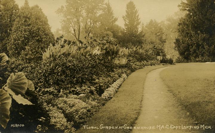 Campus Floral Garden, ca. 1920