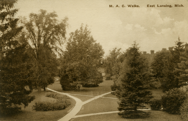 Campus Walks, date unknown